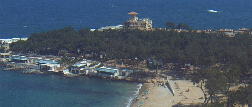 A favourite view from Sheraton Montazah Hotel